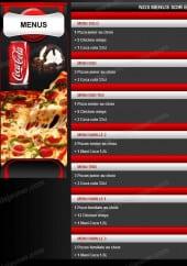 Menu Pizza Le Maestro - Les Menus