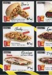Menu Délices Express - Les menus