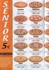 Menu Isla Pizza - pizzas, sadwichs, burgers...