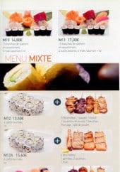 Menu Kyotoma - Menu mixte