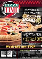 Menu Pizza time - Carte et menu pizza time Pierrefitte sur Seine