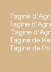 Menu L'orange bleue - Tagines
