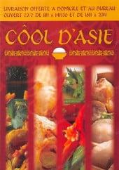 Menu Cool d'asie - Carte et menu cool d'asie aulnay sous bois