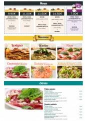Menu Pasta & Dolce - Menus, nouveau et entrées