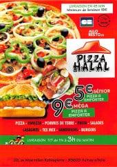 Menu Pizza Halal - Carte et menu Pizza Halal Aulnay Sous Bois