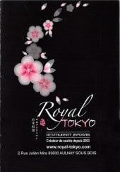 Menu Royal Tokyo - Carte et menu Royal tokyo Aulnay Sous Bois
