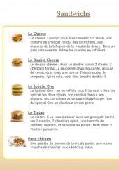 Menu Sandwich 24 - Sandwichs