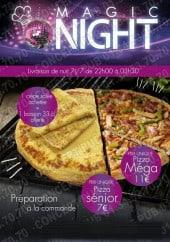 Menu O Magic Night - Carte et menu O Magic Night Drancy