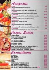 Menu Patata & Patati - Antipastis, crêpes salées