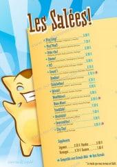 Menu Sucre&salé - Les crêpes salées