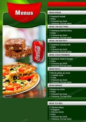 Menu Pizza Subito - Les Menus