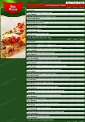 Menu Pizza Subito - Les Pizzas Tomate