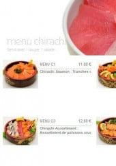 Menu Zen Sushi - Les menus chirachi