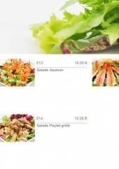 Menu Zen Sushi - Les salades Japonaise