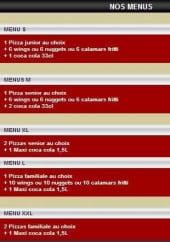Menu Pizza Di Napoli - Les menus