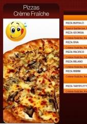 Menu Pronto Pizza - Les Pizzas à Base de Crème Fraiche