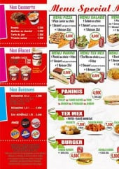 Menu Sirrentina Pizza - Les desserts, les glaces,......