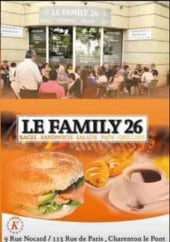 Menu Le Family 26 - Carte et menu Le Family 26  Charenton le Pont