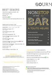 Menu Novotel - Les salades, le burratta,...