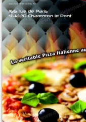 Menu Pizza Tony - Carte et menu Pizza Tony  Charenton le Pont