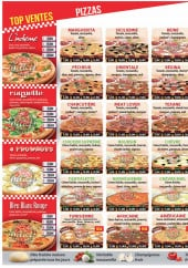 Menu Delices Pizza - Pizzas