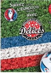 Menu Delices Pizza - Carte et menu Delices Pizza Vincennes