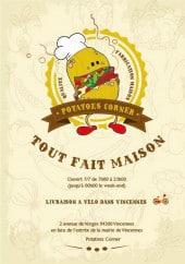 Menu Potatoes Corner - Carte et menu Potatoes Corner à Vincennes