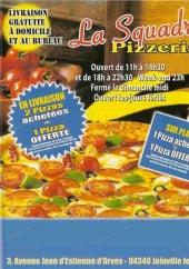 Menu La Squadra Pizza - squadra pizza joinville menu et carte