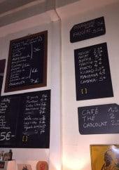 Menu Le Tapas Club - Exemple de menu