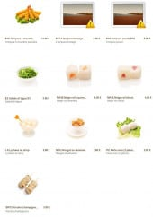 Menu Minato - Les entrées suite, desserts, le kinoko,...