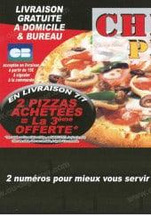 Menu Chrono Pizza - Carte et menu Chrono Pizza Villejuif