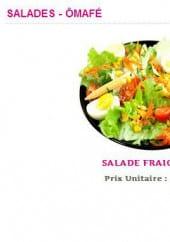 Menu Ô Mafé - Les salades