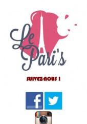 Menu Le Pari's - Carte et menu de Pari's à Argenteuil