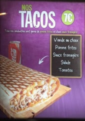Menu Odin's - Les tacos, menu phénomène, sandwiches...