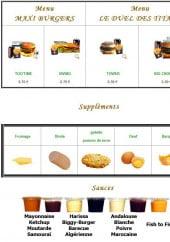 Menu Tou'Time - Les menus suite