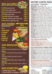 Menu Délices Café - Les salades