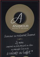 Menu Anamour - Carte et menu Anamour Goussainville