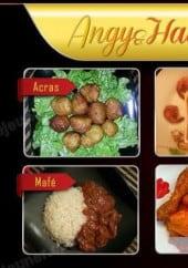 Menu Angy et Hadja - Les menus