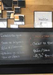 Menu Le Sancerre - Exemple de menu