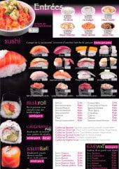 Menu Sushi Wan - Entrées