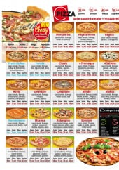 Menu Royal Pizza - Les pizzas