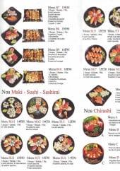 Menu Wasabi - Les menus sushis et menus chirashis