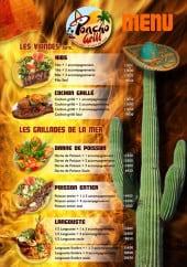 Menu Poncho Grill - Les viandes grillés (suite) et les grillades de la mer