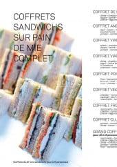 Menu Lina's - Les coffrets sandwiches