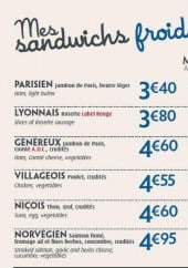 menu Pomme de Pain page 2