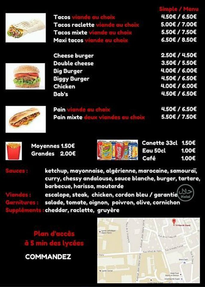 Ks Food Bourg En Bresse Carte Menu Et Photos