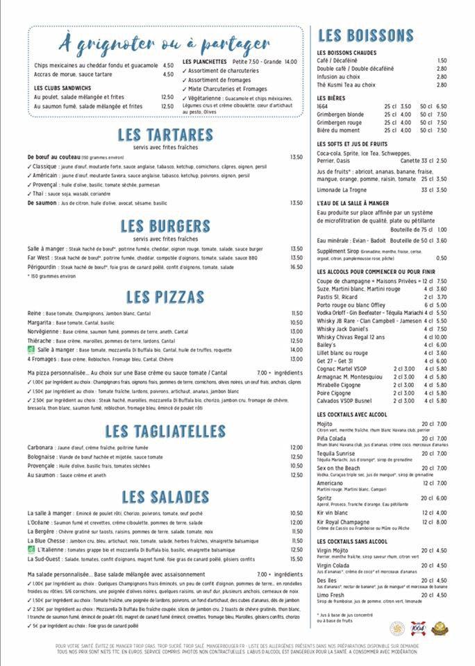 La salle manger laon carte menu et photos for Salle a manger menu