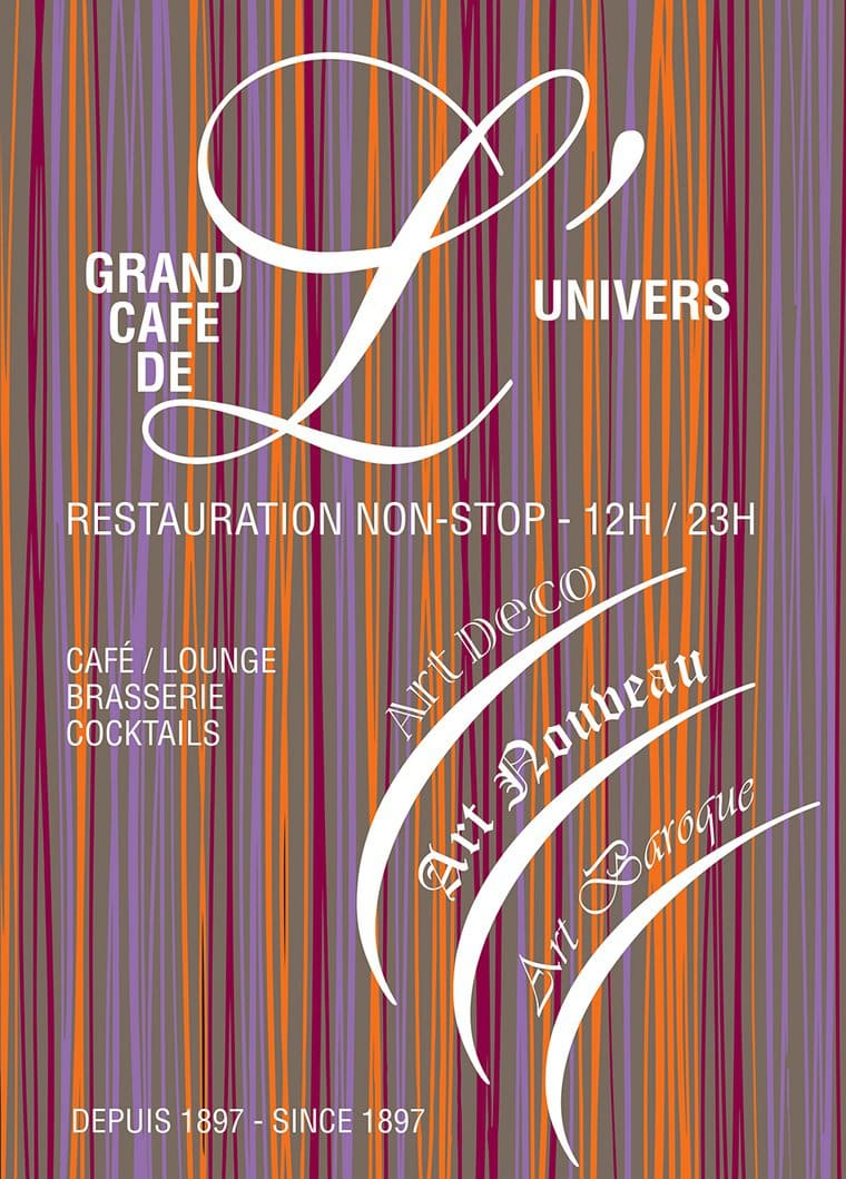 Brasserie Grand Cafe De L Univers