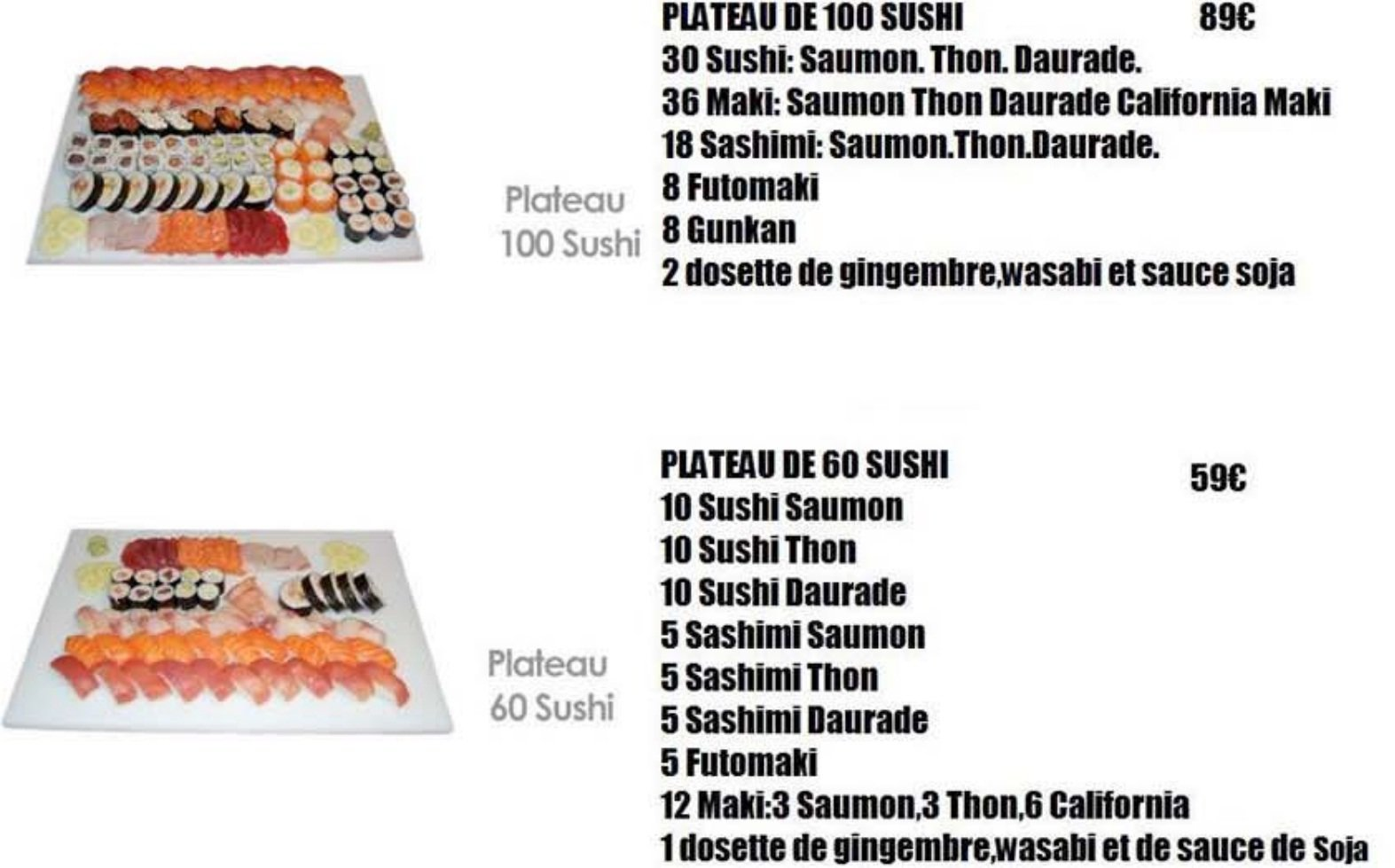 sushi bar saint quentin carte menu et photos. Black Bedroom Furniture Sets. Home Design Ideas