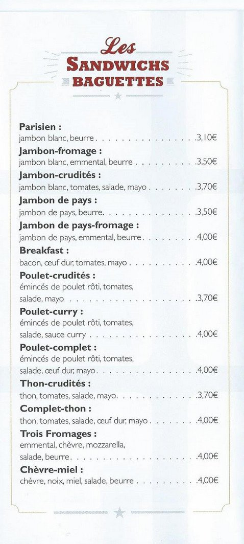 Cuisine Et Comptoir Rodez.Cuisine Et Comptoir A Rodez Carte Menu Et Photos